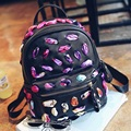 Casual Backpack Ribbons Knitting Women BackPack School Bag For Girls Famous Brand Design Shoulder Backpacks Mochila Escolar