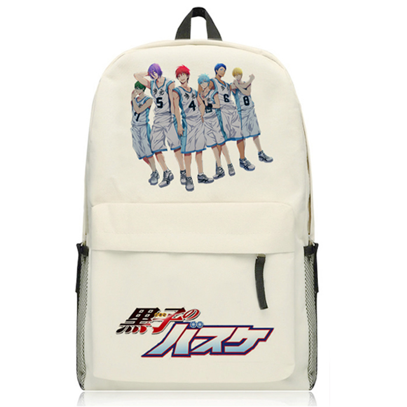 New Fashion Kurokos Basketball Backpack Japanese Anime Oxfoud Kuroko no Basuke Kuroko Te ...
