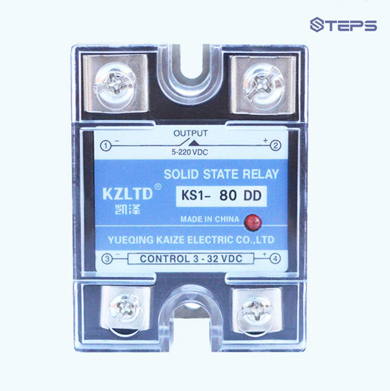SSR DC solid state relay 80A NO DC to DC solid state switch new and original sa34080d sa3 4080d gold solid state relay ssr 480vac 80a