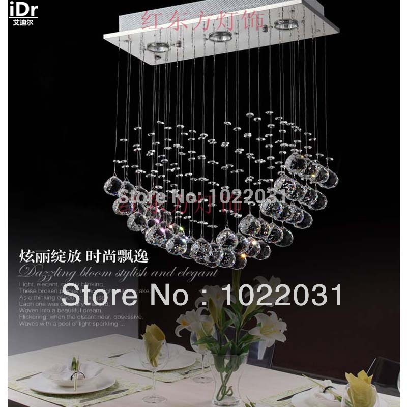 High-end European-style  k9 crystal lamps led luxury pendant lights Bedroom lamp Hall lamp factory outlets a1 master bedroom living room lamp crystal pendant lights dining room lamp european style dual use fashion pendant lamps