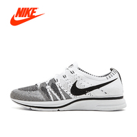 Original New Arrival Official Nike Flyknit Trainer Men S Breathable Running Shoes Sports Sneakers