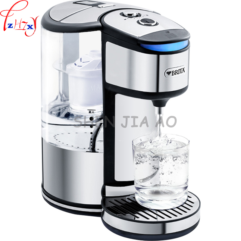 1pc home kitchen electric water that is hot water bar water filter pot stainless steel electric straight drink water purifier 220v 600w 1 2l portable multi cooker mini electric hot pot stainless steel inner electric cooker with steam lattice for students