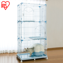 Pet cat cage double triple 903 Queen Villa PEC902
