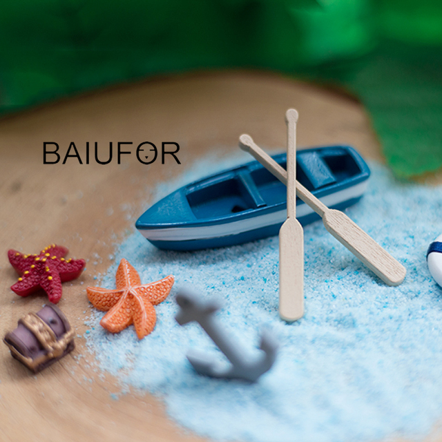 BAIUFOR Sandy Beach Holiday Series, Figurines & Miniatures Fairy ...