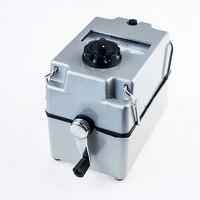 ZC 8 Megger Earth Resistance Meter Ground Shake Table 0 100 OHMS Splash Proof Enclosure Electrical Digital
