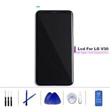 100% probado grado AAA pantalla LCD para LG V30 H930 LCD para LG V30 VS996 LS998U pantalla LCD digitalizador táctil montaje