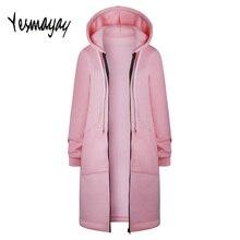 adfcb9fc80b Plus Size 5XL Sweatshirt Women Zip Autumn Spring Pink Long Hooded Moletom  Feminino Com Capuz Casual