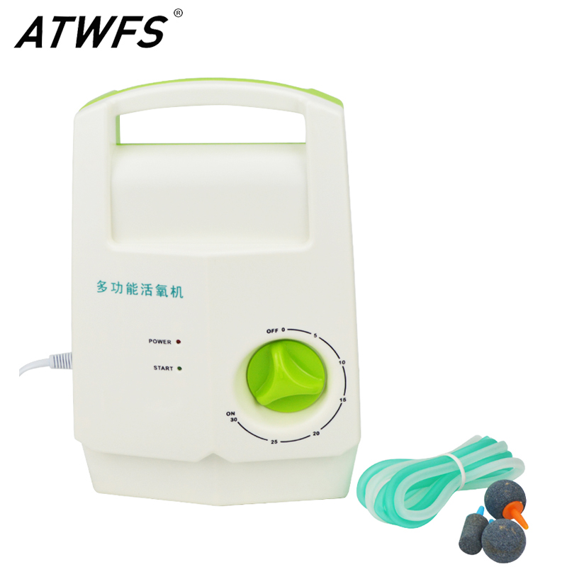ATWFS Ozone Generator 220v Vegetable Fruite Washer Water Timer Air Purifier Ozonizer Sterilizer Water Ozonizer Desalinator self powered water ozone generator ozonizer household faucet tap o3 water filter purifier wash fruit vegetable face sterilizer