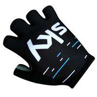 Veobike 2017 Team Sky Cycling Gloves Bike Sport Gloves Guantes Ciclismo GEL Pad Shockproof Gants Half