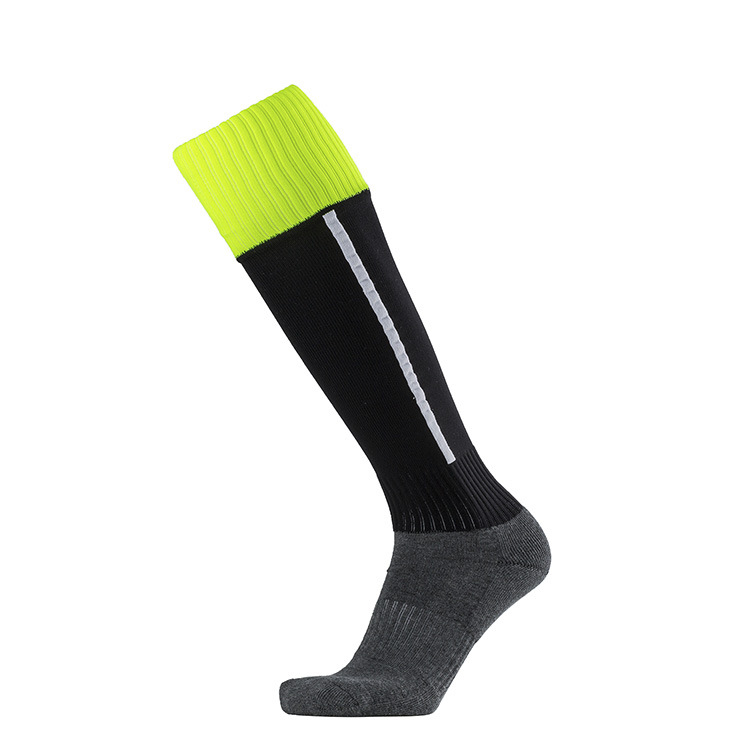 Thick Cotton Winter Keep Warm Towel Bottom Mens Sports Socks Male Cycling Football Bicycle Long Socks Non-slip Absorb Sweat