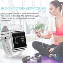 Fashion Smart Sport Bracelet Wristband Watch Men LED Touch Fitness Heart Rate Monitor Blood Pedometer Wrist Smart Clock Watches