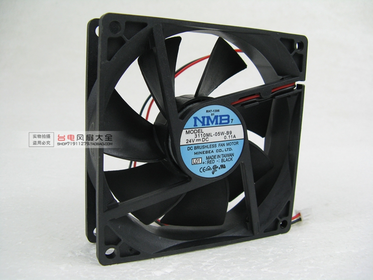 9025 Cooling Fan 9CM 24V Fan 3110ML-05W-B9 Inverter DC Double Ball