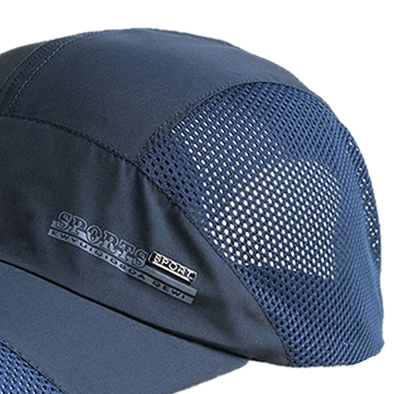 91b439418c4 New Fashion Mens Summer Outdoor Sport Baseball Hat Running Visor cap white-in  Baseball Caps from Apparel Accessories on Aliexpress.com