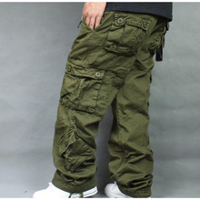 SHIERXI Plus Size 5XL 6XL 7XL Cargo Pants Overalls Hip Hop Cotton Trousers Hiphop