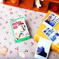 New 10pcs/box fujifilm instax mini 8 film 10 sheets for camera Instant mini 7s 25 50s 90 Photo Paper White Edge 3 inch wide film