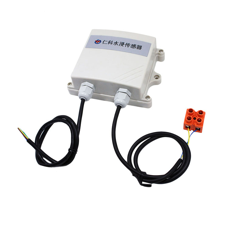 Free shipping 1pc Flooding transmitter sensor Leak detection alarm sensor Relay output Water transmitter sensor