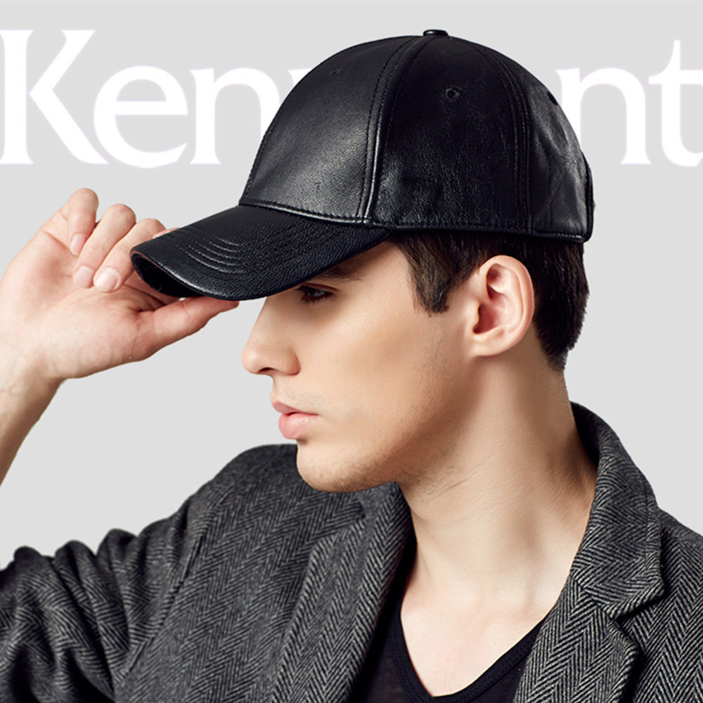 Hot Selling Kenmont Winter Autumn Men 100% Oxhide Genuine Leather Baseball  Cap Visor Outdoor Sports Hat High Quality 2269 on Aliexpress.com  dc2d865b69c