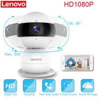 LENOVO WiFi IP Camera Snowman SR Wireless Mini HD 1080P Monitor PTZ Video Surveillance Cctv Camera
