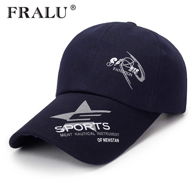 FRALU Hot Sale Unisex Brand Fashion Baseball Cap Sports Golf Snapback Simple Solid Color Hats For Men High Quality Cap