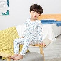 Winter Children's Pajamas For Girls Pajamas Set Cotton Sleepwear Pyjamas Kids Baby Pajamas Set For Boys Underwear Clothing Suits
