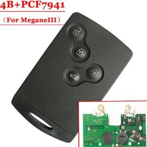 Image 1 - Tarjeta de 4 botones (no inteligente), con PCF7941, para Renault Megane III, Laguna III, 1 unidad, nuevo, envío gratis