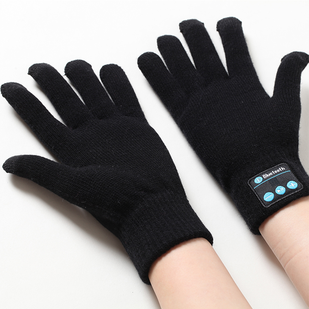 Hot Outdoor Gloves Wireless Bluetooth speaker Winter Warm Gloves Support Handsfree calls Mp3 Play Screen Touch for Mobilephone