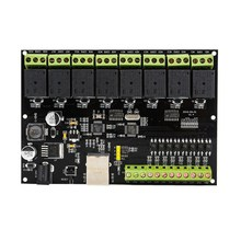 8-way Network Relay Module IP/Ethernet Access Controller Swi
