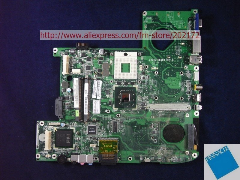 MBAKV06002 Motherboard for Acer aspire 5920 MB.AKV06.002 ZD1 DA0ZD1MB6G0 31ZD1MB00B0 965GM  tested good free shipping for acer tmp453m nbv6z11001 ba50 rev2 0 motherboard hm77 tested