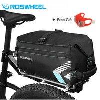ROSWHEEL New Bike Taschen 6L MTB Mountainbike Rack Bag Multifunktions Straße Fahrrad Rear Seat Trunk Bag Fahrrad Zubehör