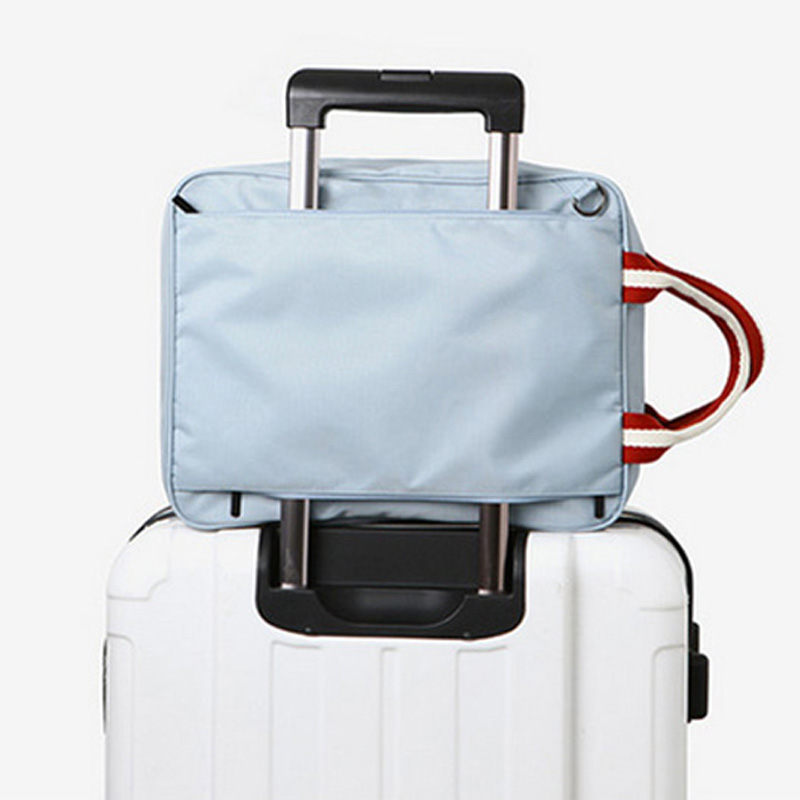 050 Fashion Nylon Duffle Bag Men Travel Bags Foldable Suitcase Big Capacity Weekend Bag Packing Cubes Tote Luggage bag 27 36 14 in Travel Bags from Luggage Bags