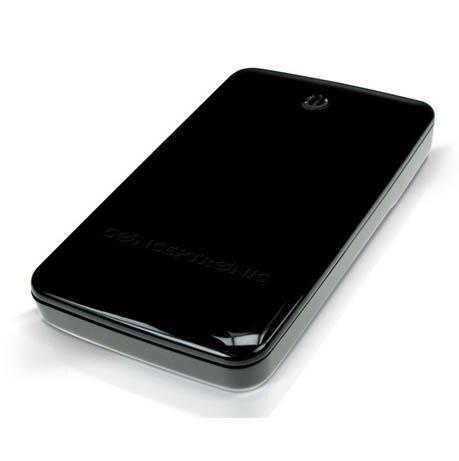 Caisse externe Conceptronic Sata HD 3 1/2 USB 3.0 couleur noire sans vis C20-300
