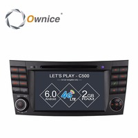4G SIM LTE Android 6 0 Quad Core Car DVD Player GPS For Mercedes W211 W219