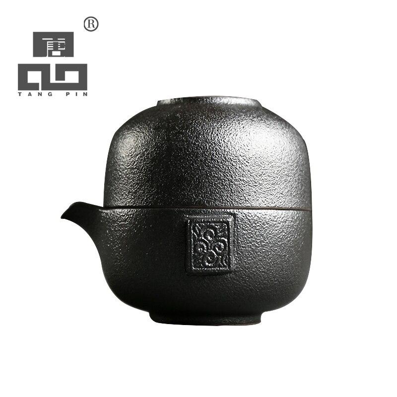 TANGPIN Японский чай горшок керамические чайники Чашки Портативный Путешествия Посуда для напитков