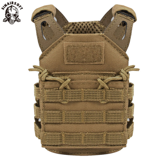 Tactical Premium Beer Military Molle Mini Miniature Hunting Vests Beverage Cooler Adjustable Shoulder Straps United States 2