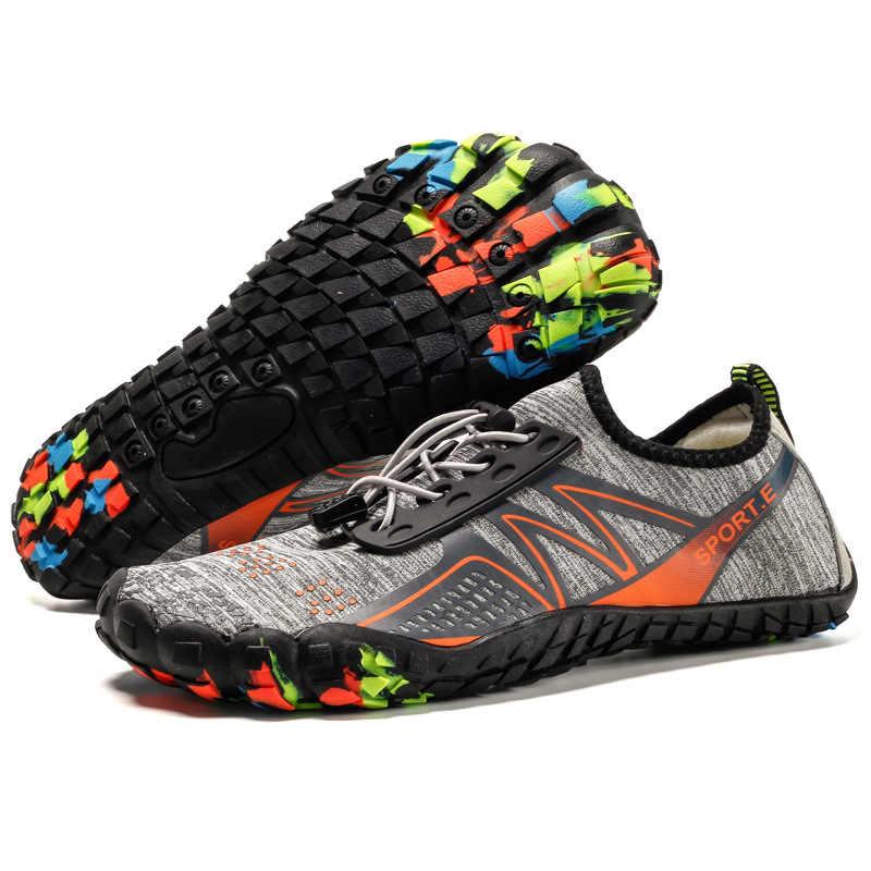 Descalço Tênis Sapatos Sapatos de Água De Verão de Natação para Unisex Leve Secagem rápida Ao Ar Livre Praia Swim Do Aqua Sapatos Sandálias Crianças
