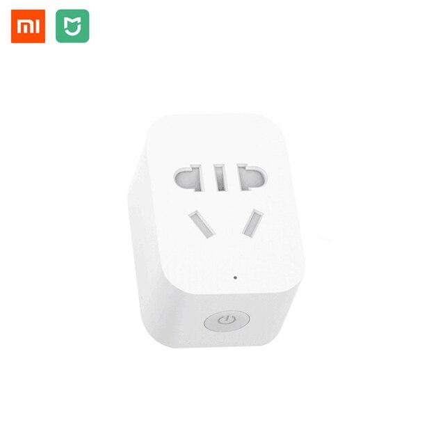 Original Xiaomi Mijia WiFi Smart Socket Plug ZigBee Version Wireless Remote Control  Work with Mi Home APP For Smart Home Set