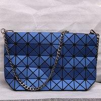Vendita calda Fold Sulle Donne Messenger Bag Stile del Giappone e della Corea Famosa Borsa di Marca Matt Superficie Diamante Reticolo Catena di Shopping borsa