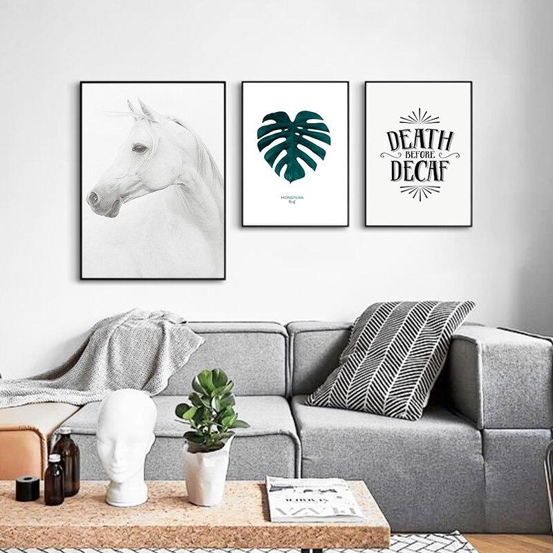 Kombinace nástěnné malby obývacího pokoje dekorativní malby čerstvé zvíře rostlinné obrazy ložnice malby restaurace nástěnné malby
