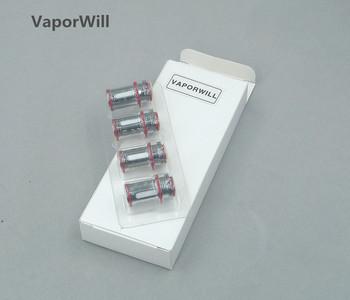 4 szt Korona 3 III sub-ohm cewka zastępcza zbiornika głowice 0 25 0 5 Ohm tanie i dobre opinie VaporWill Crown3 coil Crown 3 DS Dual