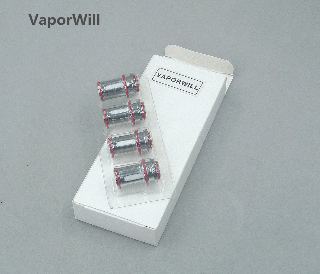 4Pcs Crown 3 III Sub-Ohm Tank Replacement Coil Heads 0.25/0.5 Ohm
