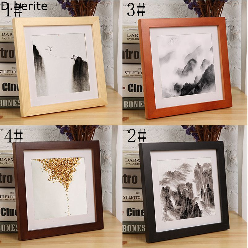 10406a766f 1pcs DIY Wall Picture Album Wall Frame Picture Photo Frame Wood Crafts Home  Decorations Gifts Multi