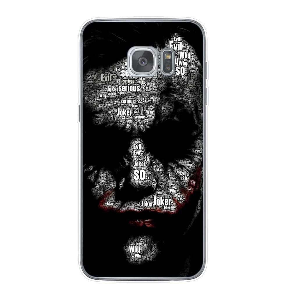 Marvel étui pour samsung de téléphone souple Galaxy S10 s8 s9 plus S10E Note 9 S6 S7edge étuis en silicone souple de luxe Spiderman iron Man capa