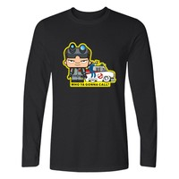New Ghostbusters Movie T-shirt Long Sleeve For Men Spring Autumn Plain Cotton Shirts Black T Shirt Men Cotton Hip Hop XXS 4XL