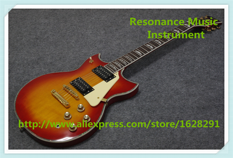 Hot Selling Chinese CS Cherry Sunburst Finish YMH SG Electric Guitar Same As Pictures For Sale стоимость