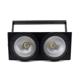 Image 3 - 2 目 200 クール、ウォームホワイト cob DMX512 ライト舞台照明 led バー ktv のための結婚式の dj ディスコ効果光 shehds