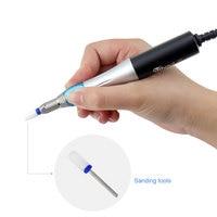 NOQ новейшая Полировочная буферная Дрель Ручка электрическая пилка маникюрная пилка ремонтный аппарат машина для маникюра дизайн ногтей Шл