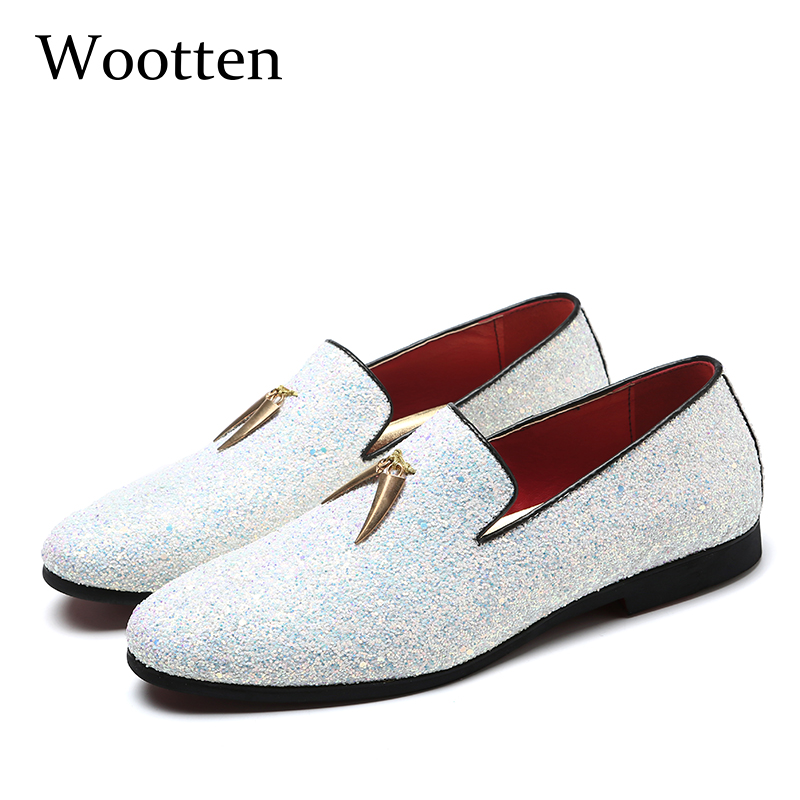 plus size mens shoes casual glitter designer brand dress luxury social fashion driving adult loafers #201plus size mens shoes casual glitter designer brand dress luxury social fashion driving adult loafers #201