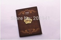 1PC/Lot  Crown Metal Bookmark Design Gold Hooks Lovely Stationery For Book Using