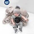 Elefante macio Apaziguar Playmate Boneca Calma Brinquedos Do Bebê Elefante de Pelúcia Travesseiro Brinquedos elefante de pelúcia Boneca de Pelúcia brinquedo macio cobertor do bebê