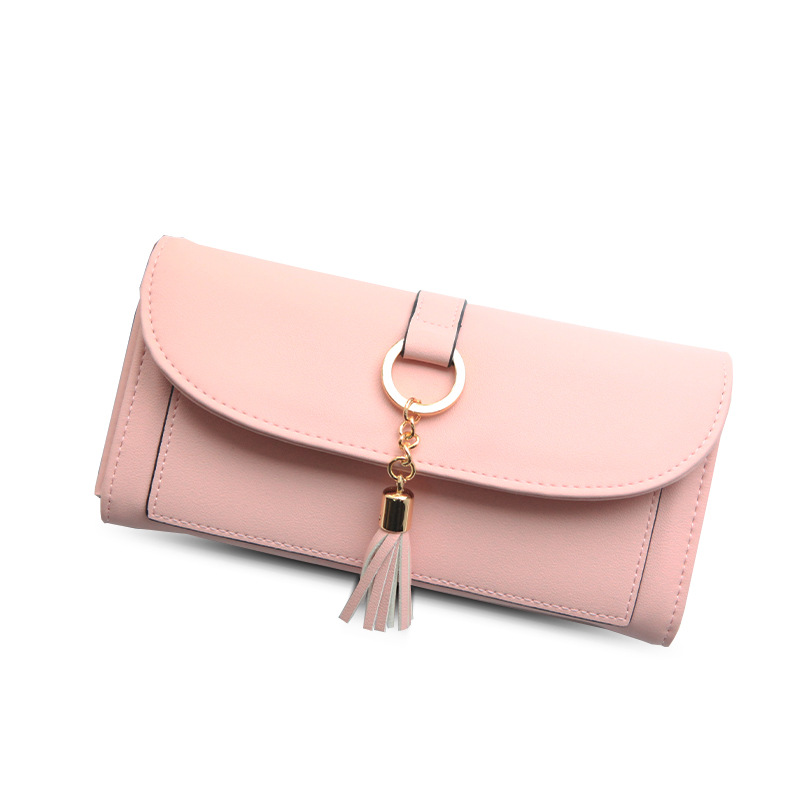 Wallet Female Coin Purse Leather Wallet Women Purses Card And Photo Holder Tassel Hardware Tassel Long Fashion Women Money Bag blanco zenar 45 s темная скала с клапаном автоматом чаша слева
